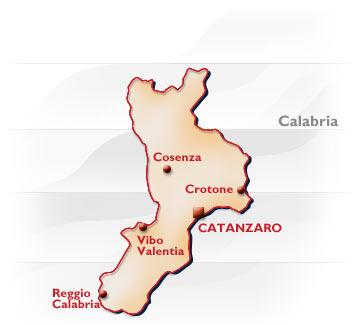 Cartina Geografica Calabria.Calabria Conformazione Popolazione Origini Del Nome Posizione Confine Calabresi