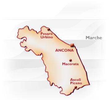 Litorale Marche Cartina.Marche Conformazione Popolazione Origini Del Nome Posizione Confine Marchigiane