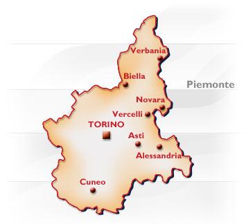 La Cartina Del Piemonte.Piemonte Conformazione Popolazione Origini Del Nome Posizione Confine Piemontese